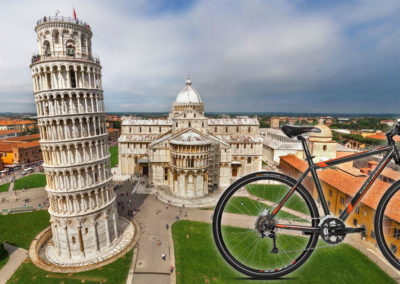 Pisa bike tour